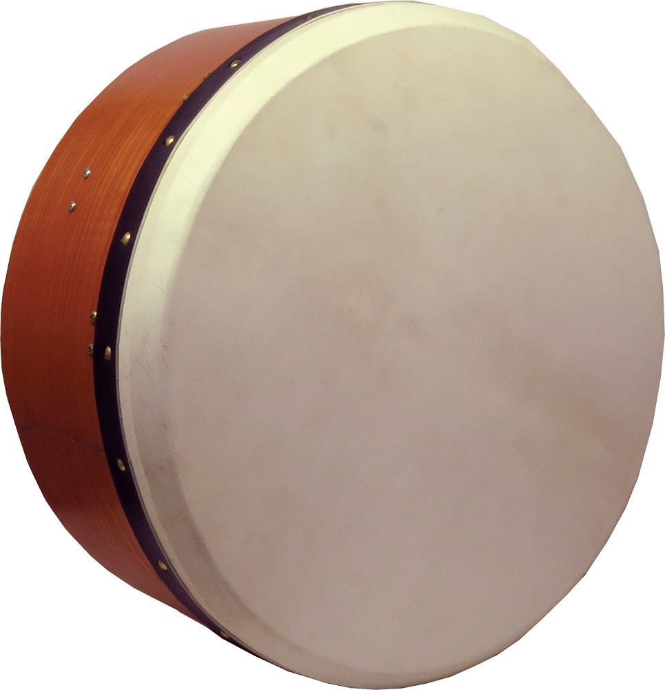 Glenluce Deep 16inch Tuneable Bodhran Bodhran with 7inch deep body with an internal tuning rim. Adjustable single strut