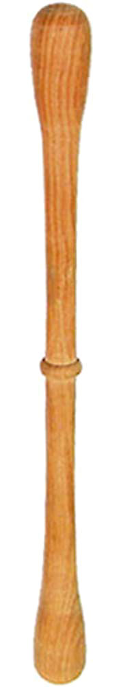 Glenluce Cocuswood Bodhran Beater, Ridge 24cm long bodhran tipper with central ridge