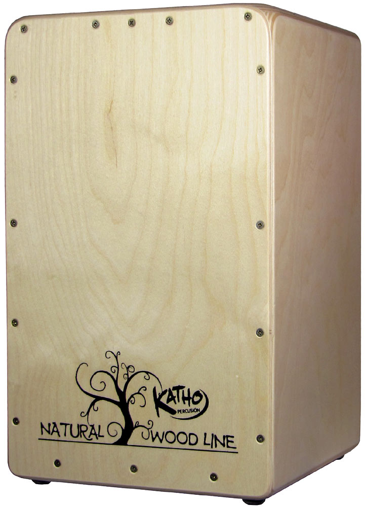 Katho Woodline Cajon, Birch Plate Birch wood front plate, fully adjustable