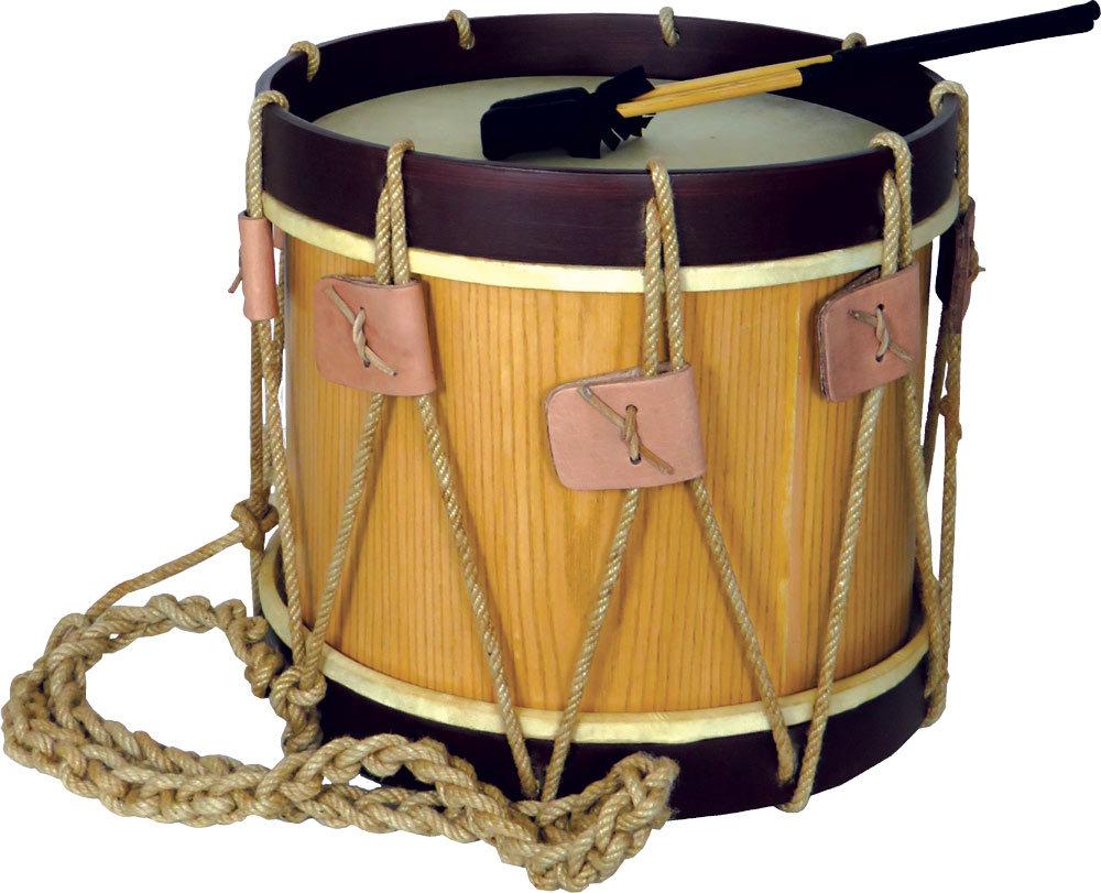 Atlas Renaissance Drum, 13.5inch Head Hoop tensioned 13.5inch goat skin head and 13 high