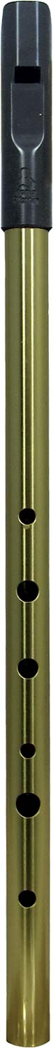 Tony Dixon Trad Alto A Whistle, Brass Tuneable ABS head with a brass body, for a lovely mellow tone