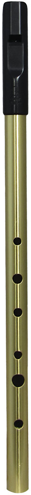 Tony Dixon Trad Alto Bb Whistle, Brass