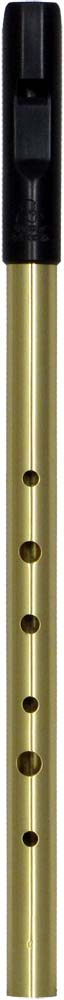 Tony Dixon Trad High C Whistle, Brass Tuneable ABS head with a brass body, for a lovely mellow tone