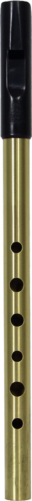 Tony Dixon Trad High E Whistle, Brass Tuneable ABS head with a brass body, for a lovely mellow tone