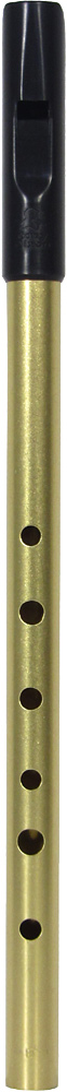 Tony Dixon Trad High Eb Whistle, Brass Tuneable ABS head with a brass body, for a lovely mellow tone