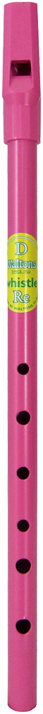 Waltons Pink D Whistle Comes in a clear display tube with an instruction leaflet