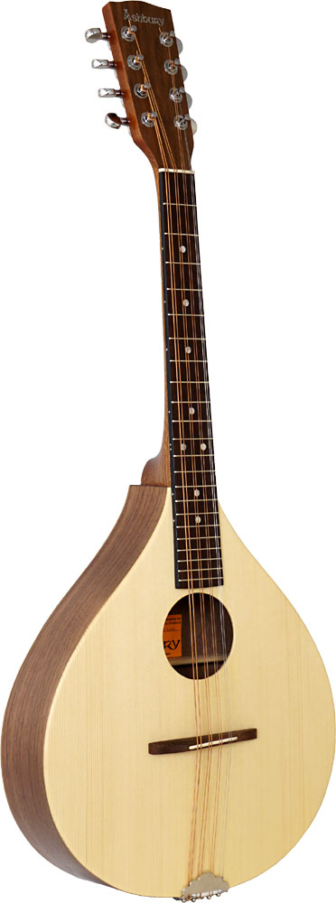 Ashbury Rathlin Octave Mandola Solid spruce top with walnut back and sides. Mahogany neck, hardwood fingerboard