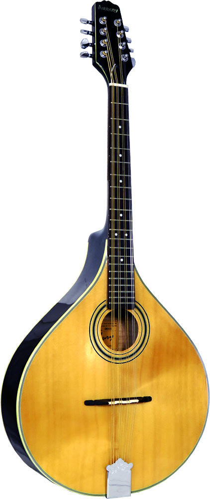 Ashbury AM-325 Octave Mandola, Flat Top Solid spruce top, solid maple body. Oval hole, gloss natural finish.