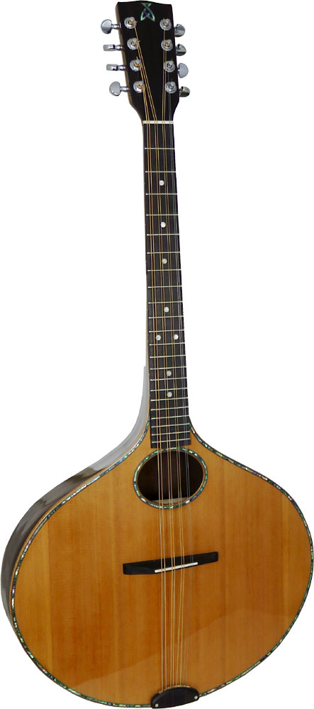 Ashbury Iona Octave Mandola Onion shaped body. Solid spruce top, solid rosewood back and sides.