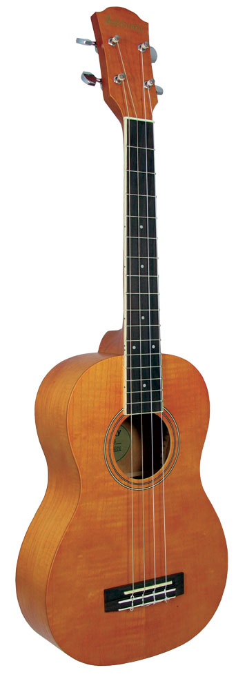 Ashbury AU-60 Baritone Ukulele, Ash Body Ash top, back & sides, bound fingerboard, geared tuners. Aquila strings