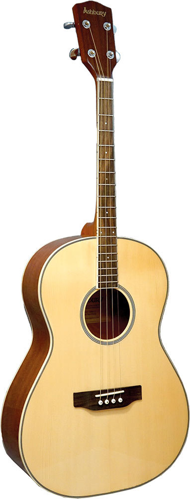 Ashbury AT-14 Tenor Guitar, Spruce Top Solid sitka spruce top with mahogany body, 12 fret to body,