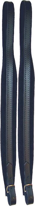 SCARLATTI 85 Single Leather Shoulder Strap