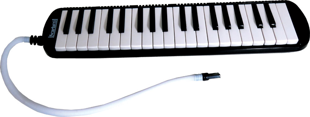 Scarlatti SME-37 37 Key Melodica, Black a great value student Melodica complete with blow pipes