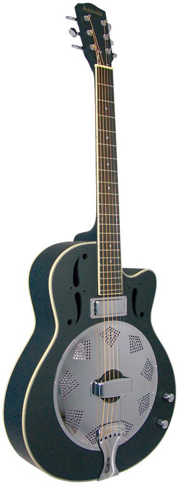 ashbury ar 38 resonator guitar electro hobgoblin music usa. Black Bedroom Furniture Sets. Home Design Ideas