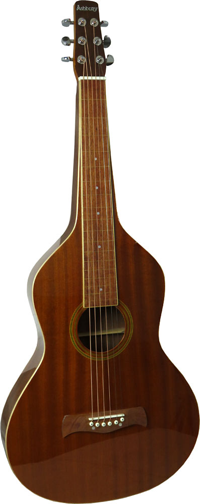 Ashbury AW-10 Weissenborn Guitar, Squareneck All Sapele body, rosewood fingerboard with hollow square neck