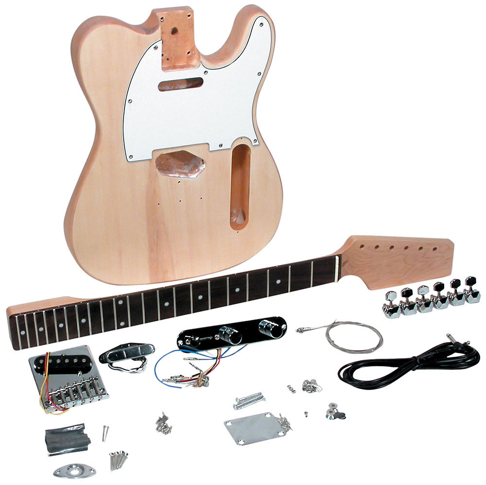 Saga TC-10 Electric Guitar Kit Includes all parts and instructions, to build a complete, playable guitar