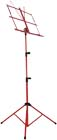 Viking Red Music Stand Classic folding music stand in Red