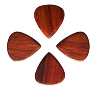 Timber Tones Classic 351 Burma Padauk Single Pick. 4 PK