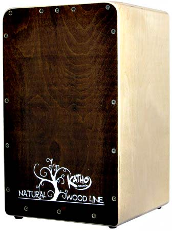 Katho Woodline Cajon, Walnut Finish