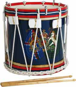 Atlas Military Style Side Drum, 14inch