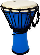Atlas AP-A2505 Mini Fibreglass Djembe, Blue