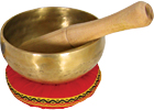 Atlas Singing Bowl, 5inch, Brass