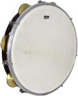 Atlas 10inch Maple Tambourine, Single