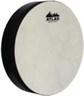 Atlas 10inch Hand Drum, Pre-Tuned Pre-tuned drum with 10inch sheep skin head