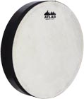 Atlas 12inch Hand Drum, Pre-Tuned Pre-tuned drum with 12inch sheep skin head