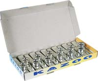 Atlas Plastic Silver Kazoo, 12per box Display box of plastic silver colored Kazoos