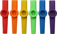 Atlas Plastic Colored Kazoo Single