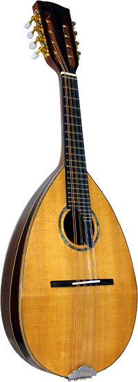 Ashbury Bowl Back Mandolin Solid spruce top with 11 rosewood ribs. Maple binding and rib strips