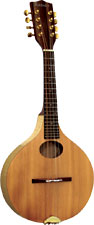 Ashbury Rathlin Ash Mandolin Solid spruce top with flamed ash back and sides. Ashbury onion shaped body