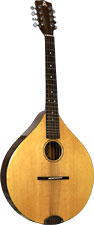 Ashbury Style E Octave Mandola Solid Alaskan Sitka Spruce top, solid sapele body, designed by Phil Davidson