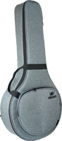 Ashbury Premium Octave Mandola Bag Tough black nylon outer with padding and plastic reinforcement