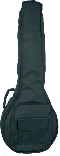 Ashbury Deluxe Irish Bouzouki Bag Tough black nylon outer with 20mm padding
