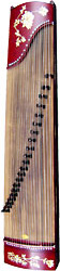 Atlas Gu Zheng, 21 String Zither type plucked instrument with stand