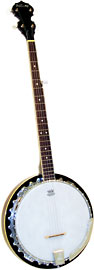 Ashbury AB-35 5 String Banjo, Left Handed
