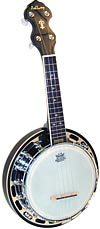 Ashbury AB-48 Ukulele Banjo, Resonator, Mah High quality banjo, mahogany resonator & rim. brass tone ring, 16 tension hooks
