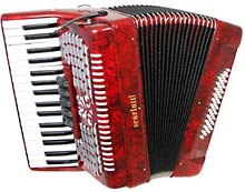 Scarlatti Piano Accordion, 48 Bass. 3v