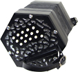 Stagi W-15-MS C/G Anglo Concertina, 30 Key C/G anglo system, smaller design, black fretted ends and white buttons