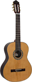 Delgada DGC-36 Classical Guitar, Full Size Classical model with Solid cedar top, rosewood back and sides