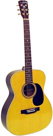Blueridge BR-63 000 Contemporary Guitar Solid Sitka top, rosewood back & sides 28 style. OOO Style (small bodied)