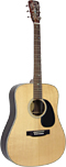 Blueridge BR-160N Historic Series Guitar Solid sitka spruce top with scalloped braces. Dreadnought body