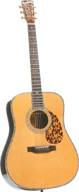 Blueridge BR-180N Historic Guitar, Nat Solid Sitka top, solid East Indian rosewood body, ebony f/b & bridge, D45 style