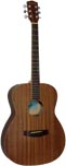 Ashbury AG-30 OOO Style Acoustic Guitar Mahogany top with a mahogany 000 body