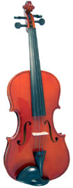 Valentino VG-100 Full Size Violin Outfit Solid spruce top, solid maple body, case and bow. Well specified starter Violin