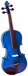 Cremona SV-75 Full Size Violin, Blue