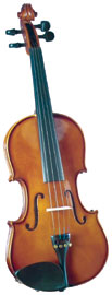 Cremona SV-100 3/4 Size Violin Outfit Cremona SV-100 Premier Novice 3/4 size Violin with Dyed Rosewood Fingerboard