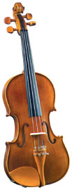 Cremona SV-150 Full Size Violin Outfit Cremona SV-150 Premier Student full size Violin with Solid Maple Back and Sides